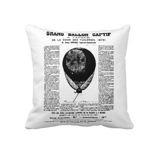 Vintage Balloons Pillows