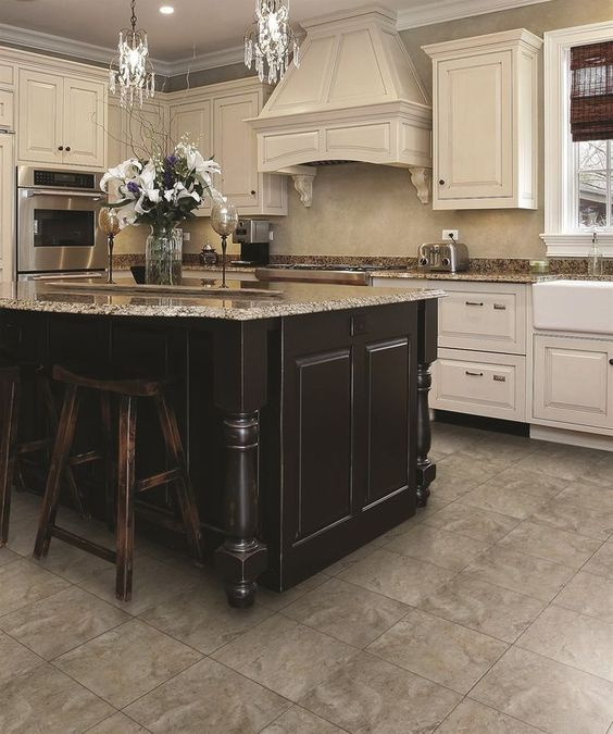 These carriage hill twilight glazed porcelain floor tiles for Perfect tiles for kitchen