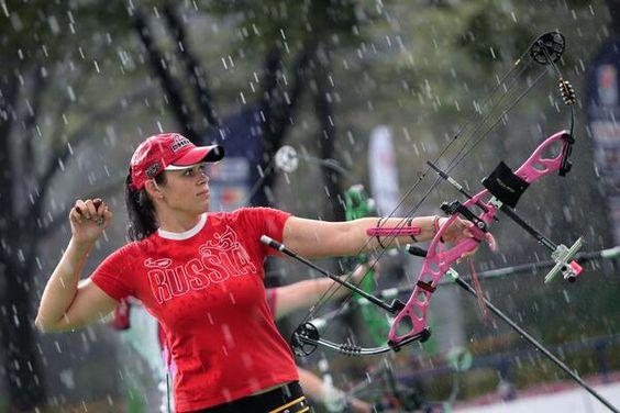 Powerhouse archer Albina Loginova