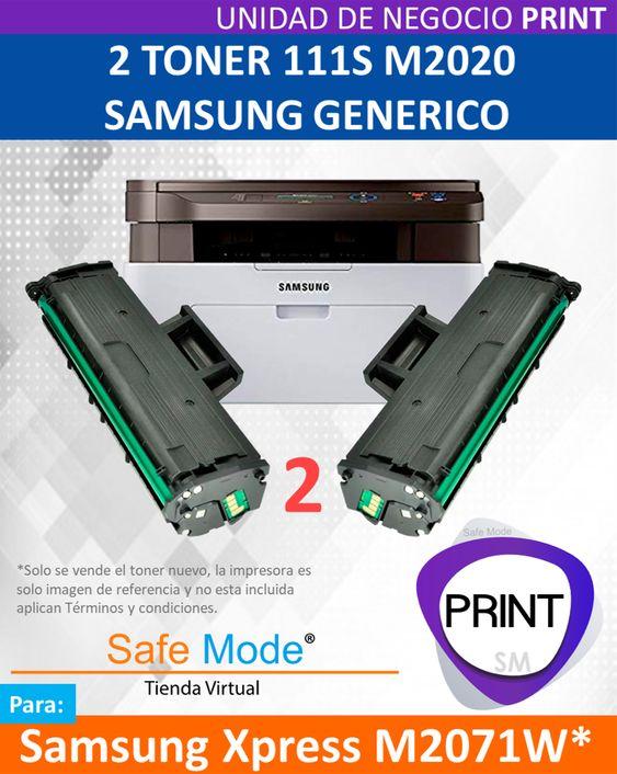 2 Toner para Samsung Xpress M2071W  [Nuevo]
