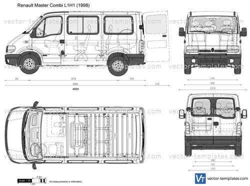 Renault Master Combi L1h1