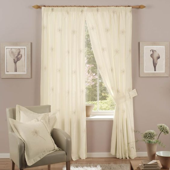 Curtains Ideas best ready made curtains uk : Karina - Cream Ready Made Curtains (50% OFF!) from £14.67 [A ...