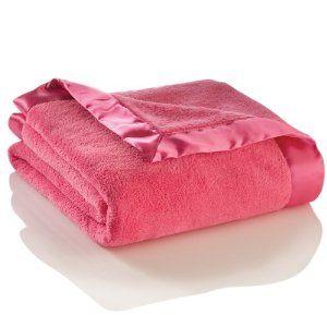 Elegant Baby Microfiber Blanket, Hot Pink,$25.00