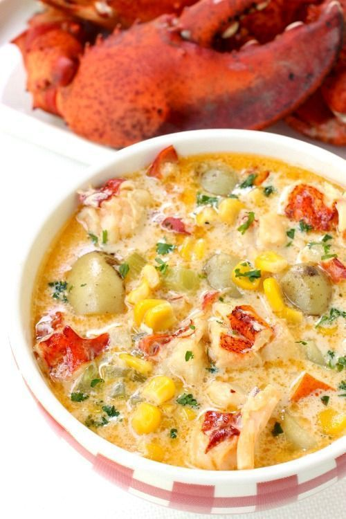 Corn chowder, Chowders and Lobsters