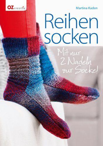 Reihensocken: Mit nur 2 Nadeln zur Socke! von Martina Kaden http://www.amazon.de/dp/3841062865/ref=cm_sw_r_pi_dp_r4lPvb06M7MC3