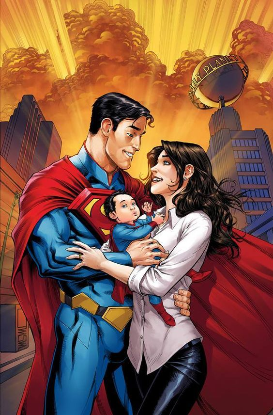 Superman and Lois Lane by Mike S. Miller *