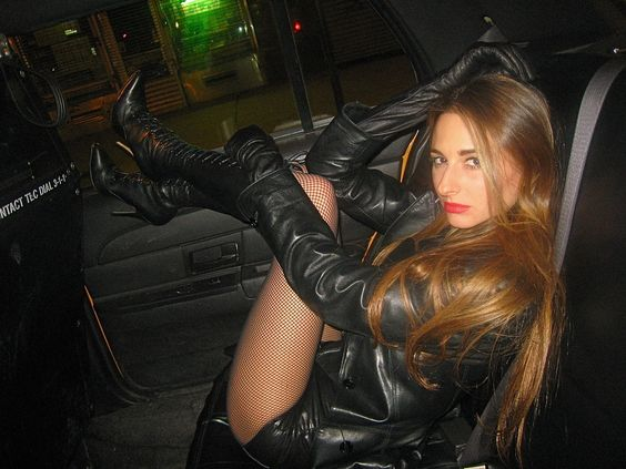 leather babe