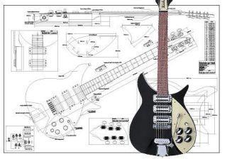 Rickenbacker 350 Electric Guitar Plan Electric Guitar Guitar Guitar Tips