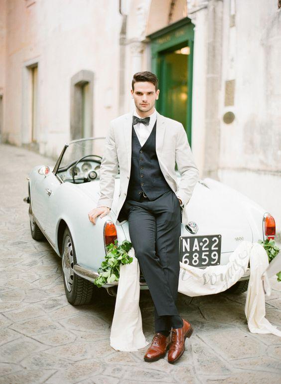 Elegante. #casamento #noivo #colete #wedding #grooms  {Fragmentos}