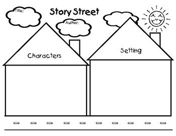 Printables Character And Setting Worksheets character and setting worksheets bloggakuten story elements street on pinterest