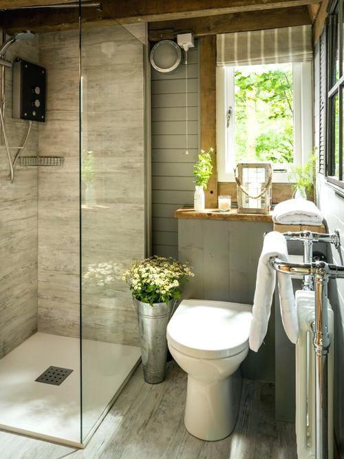 Rustikale Badezimmer Dekor Clearance #Badezimmer | Badezimmer in ...