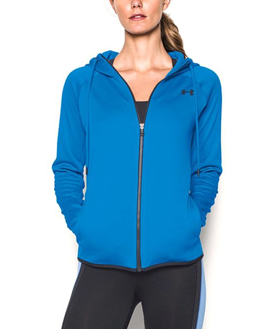 Love this Under Armour® Water Storm Armour Fleece Lightweight Full-Zip Hoodie by Under Armour® on #zulily! #zulilyfinds