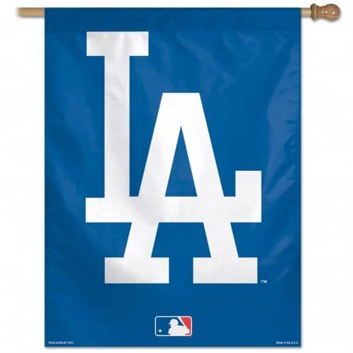 3d Printed Los Angeles Dodgers Style Custom Living Room Curtains