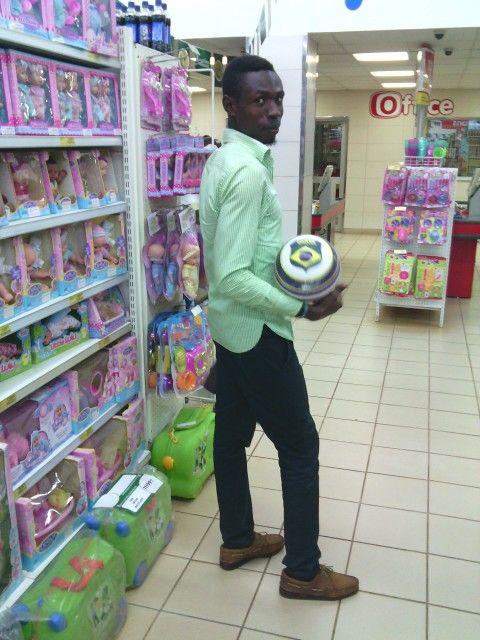 Shopping in green