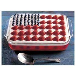 Wave Your Flag Cheesecake Allrecipes.com