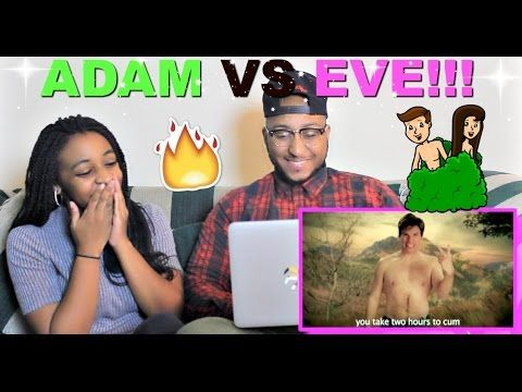 Epic Rap Battles Of History Adam Vs Eve Reaction Epic Rap