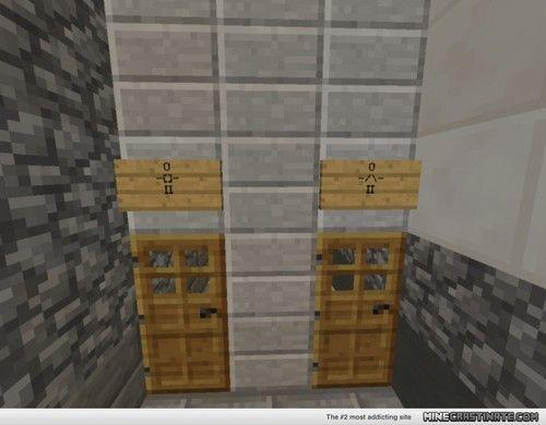 Minecraft Furniture Bathroom toilet paper roll | bathroom | minecraft building inc - too easy