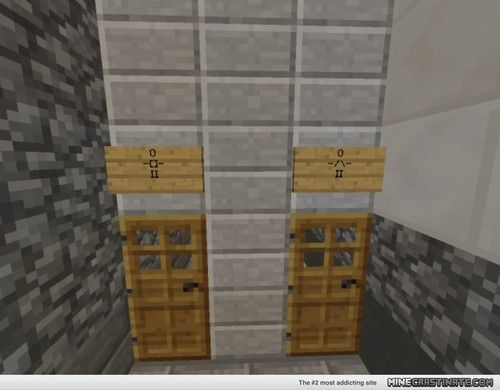 Minecraft and bathroom on pinterest for Bathroom designs minecraft