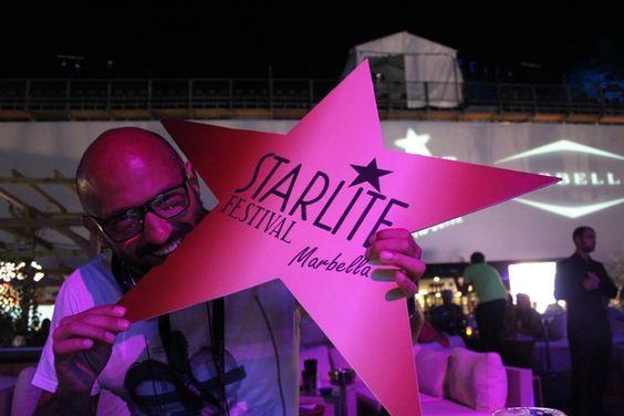 Julio Torres, nuestro DJ invitado, en Starlite Lounge dándolo todo. Starlite Festival Marbella