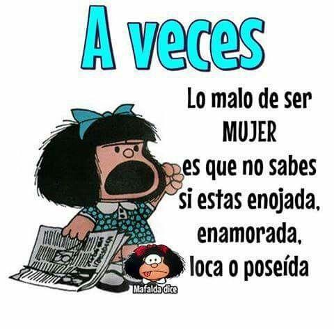 Resultado De Imagen Para Mafalda Enojada Chistes De