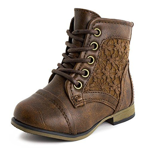 Girls Lace Up Flower Embroider Ankle Boots Brown 7 M US Toddler Link http://www.amazon.com/dp/B00OR4A7CG/ref=cm_sw_r_pi_dp_zJIwub0GWBW6J
