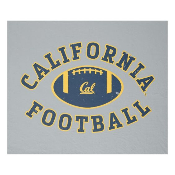 California Football Cal Berkeley 5 Fleece Blanket Zazzle Com