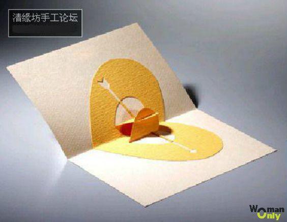 шаблон лебедей в технике киригами