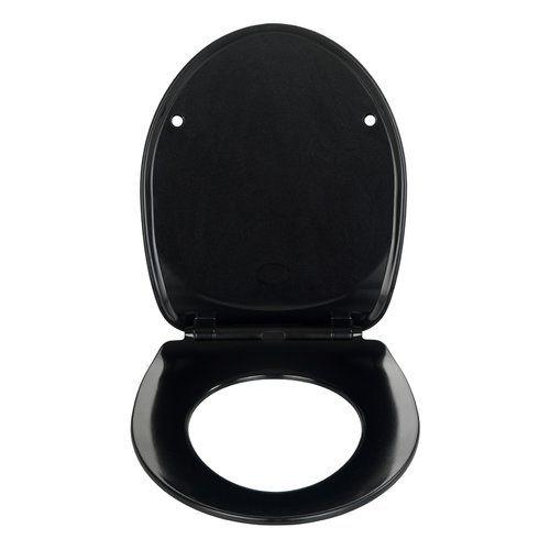 Wenko Armonia Soft Close Round Toilet Seat Toilet Seat Hinges