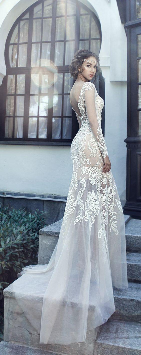Сватбени рокли на Милва 2017 Ривиера / http://www.deerpearlflowers.com/milva-wedding-dresses/3/