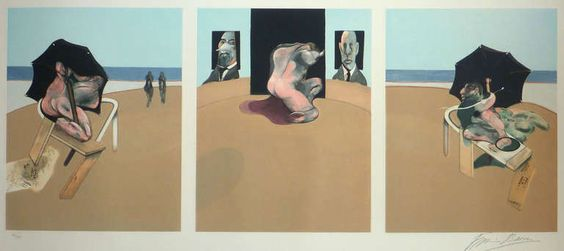 1stdibs.com | Francis Bacon - Triptych 1974-1977, 1981