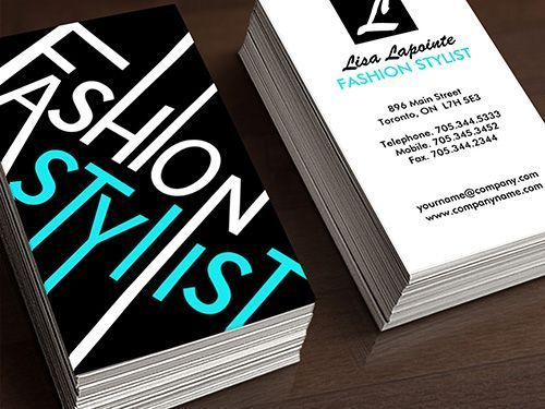 Fashion Stylist Business Card Template Fashion Business Cards Stylist Business Cards Hairstylist Business Cards