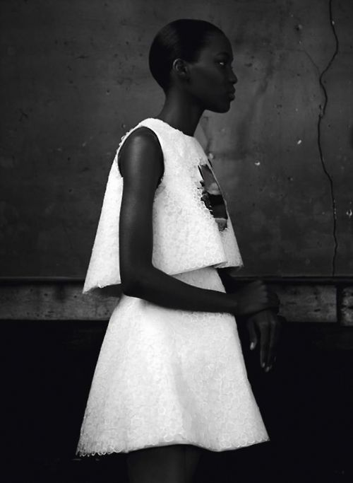 "Grace Bol in ""Fashion Art"" by Max von Gumppenberg & Patrick Bienert for Vogue Germany, May 2014"