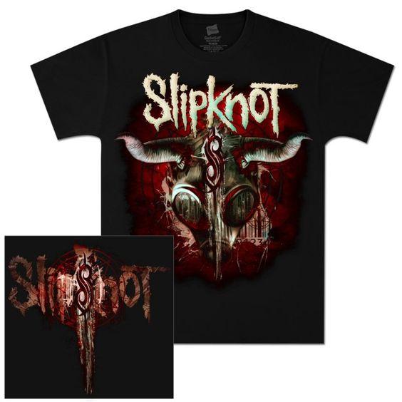 Slipknot Goat Mask T-Shirt