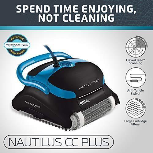 Nautilus Cc Plus Automatic Robotic Pool Cleaner Best Automatic Pool Cleaner Robotic Pool Cleaner Best Robotic Pool Cleaner