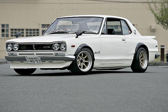 "1972 Nissan Skyline ""GT-R"" Beautiful and powerful #oldtimer"