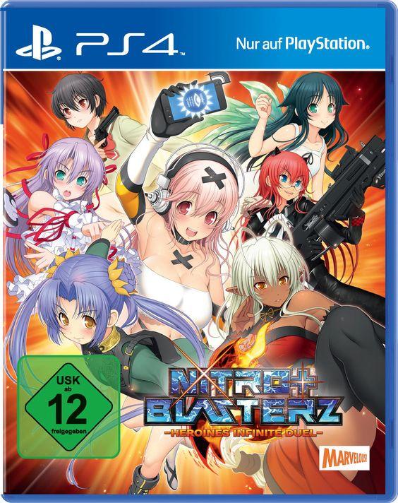 Nitroplus Blasterz - Heroines Infinite Duel: Amazon.de: Games