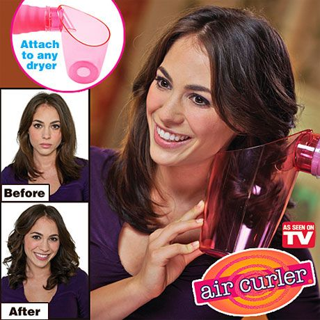 Air Curler, want to try... Wonder if this actually works..