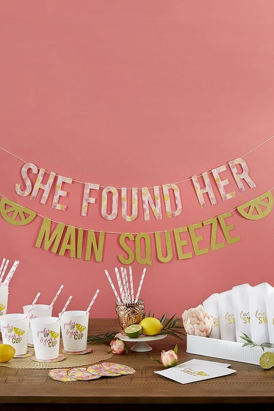 She Found Her Main Squeeze - LDS Bridal Shower Theme
