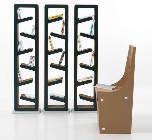Estanterias carton kube design decoracion tiendas de - Estanterias de diseno ...