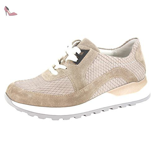 WALDLÄUFER HIROKO 364004785207 femmes Chaussures à lacets, beige 37 EU