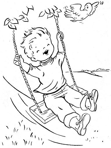outdoor coloring pages - photo#32