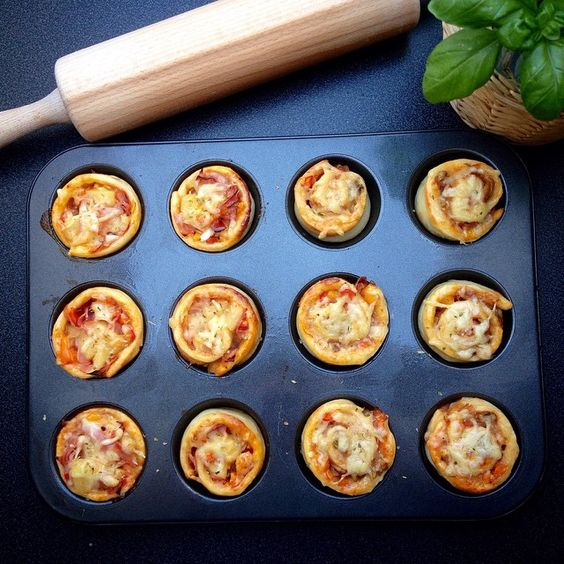 Mini-Pizza Muffins