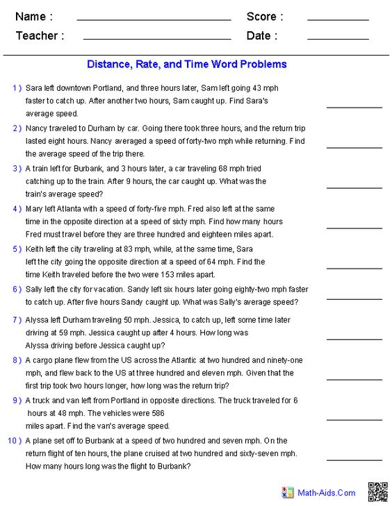 Worksheet Algebra 1 Word Problems Worksheets distance rate and time word problems denenecek projeler problems