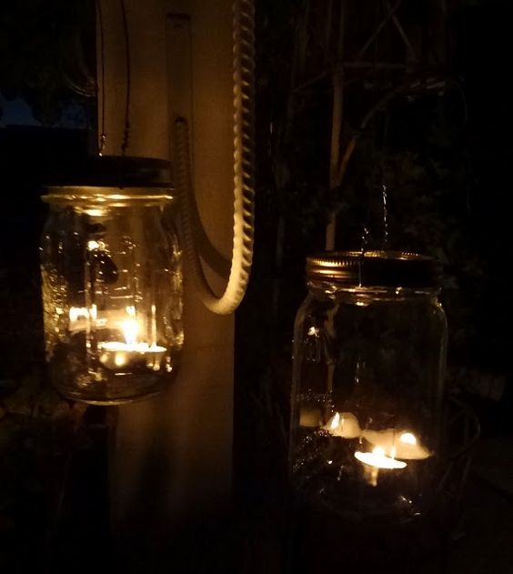 Mason Jar Lanterns, Vases and Whatever You Can Think Of