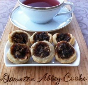 Banbury tarts, named after the town in England, are lovely little tea treat to share with fellow Downton Abbey fans