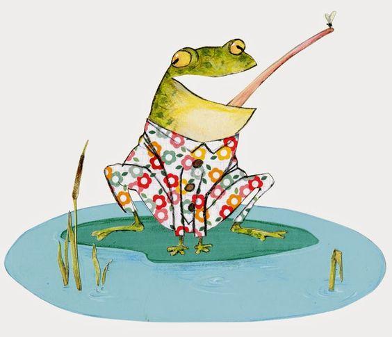 Robert Wagt frog illustration