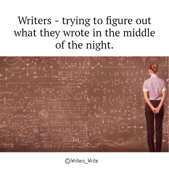 In The Middle Of The Night - Writers Write