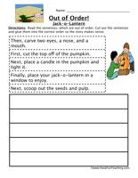 Sequencing worksheets, Worksheets and The sentence on Pinterest