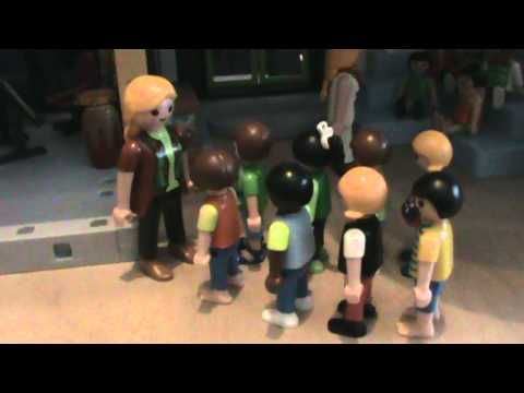 Cute video of school subjects in French with playmobil. Vraiment adorable!