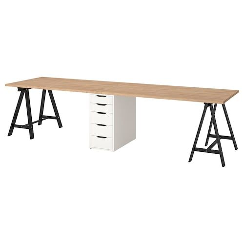 Large Desk Ikea Home, Beech Desk Ikea